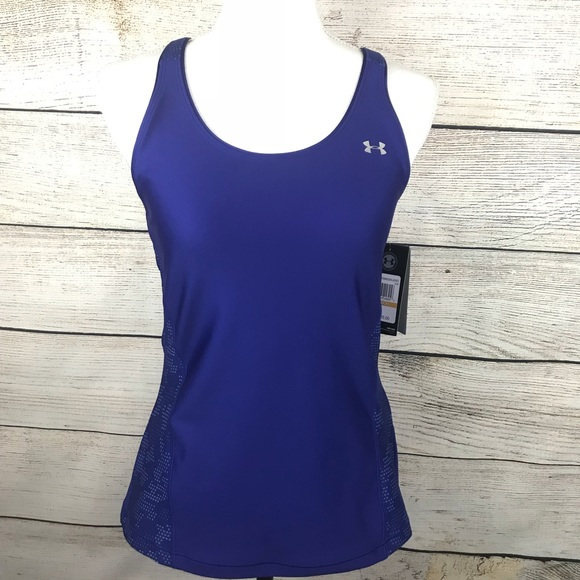 ef9254ebc9b918 Under Armour heat gear fitted racerback tank top